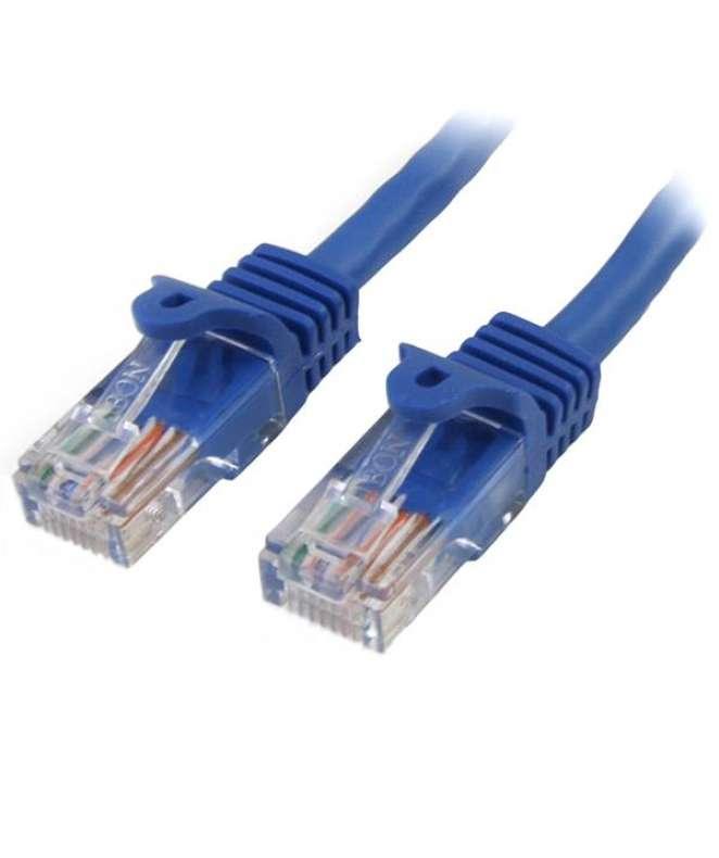 Cavo di rete CAT 5e - Cavo Patch Ethernet RJ45 UTP Blu da 3m antigroviglio