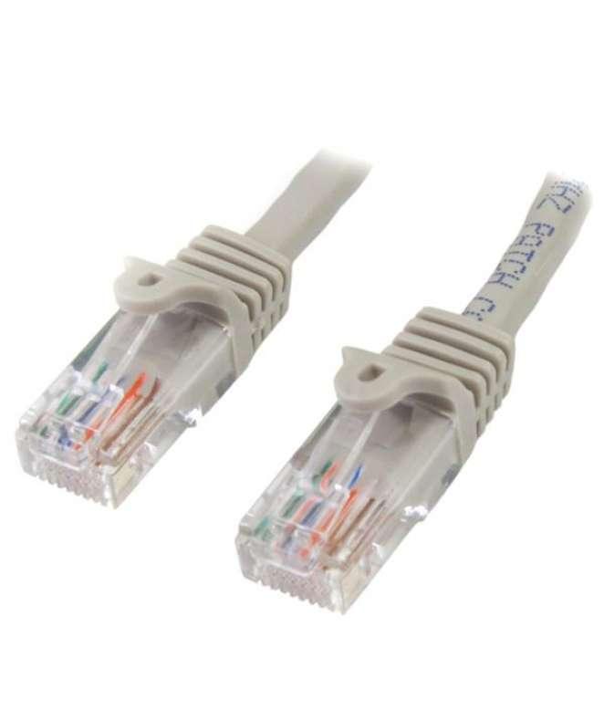 Cavo di Rete da 10m Grigio Cat5e Ethernet RJ45 Antigroviglio