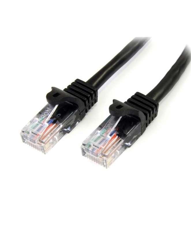 Cavo di Rete da 50cm Nero Cat5e Ethernet RJ45 Antigroviglio