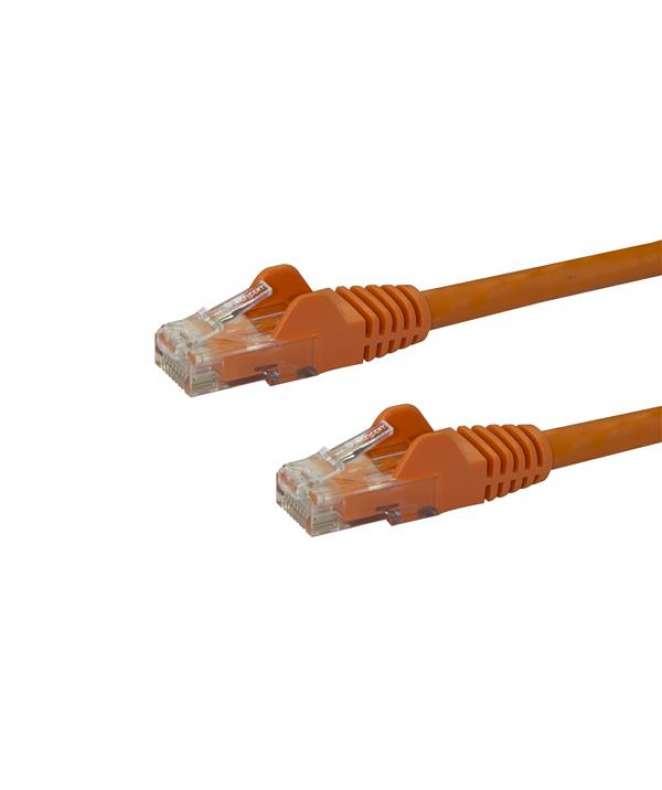 Cavo di rete CAT 6 - Cavo Patch Ethernet RJ45 UTP arancio da 10m antigroviglio