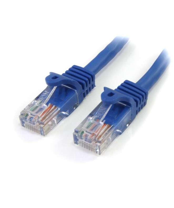Cavo di rete CAT5e - Cavo Patch Ethernet RJ45 UTP blu da 5m antigroviglio