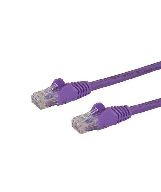 Cavo di Rete Viola Cat6 UTP Ethernet Gigabit RJ45 Antigroviglio - 1m