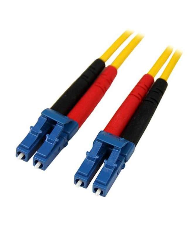 Cavo patch duplex in fibra modalità singola LC/LC - LSZH da 1 m