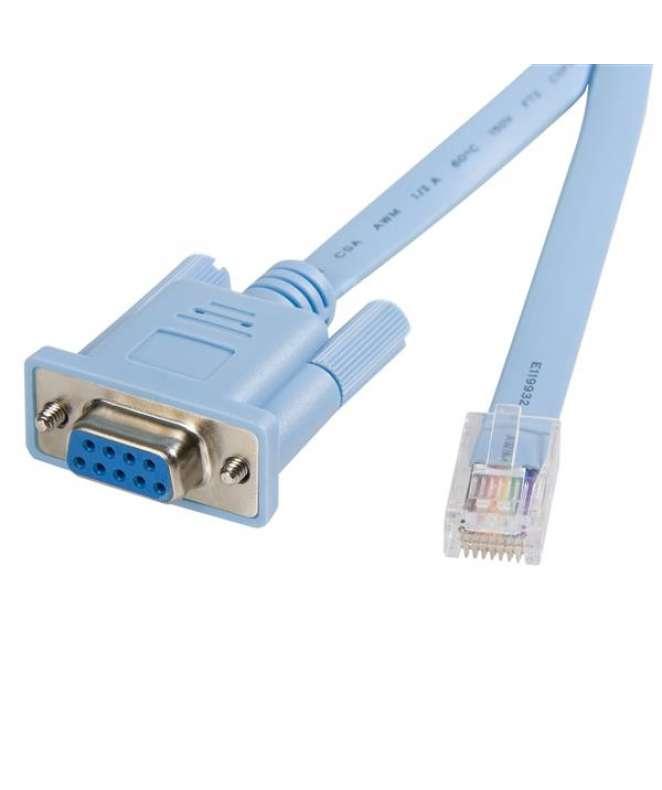 Cavo gestione console router Cisco RJ45 a DB9 da 1,8m Maschio/Femmina