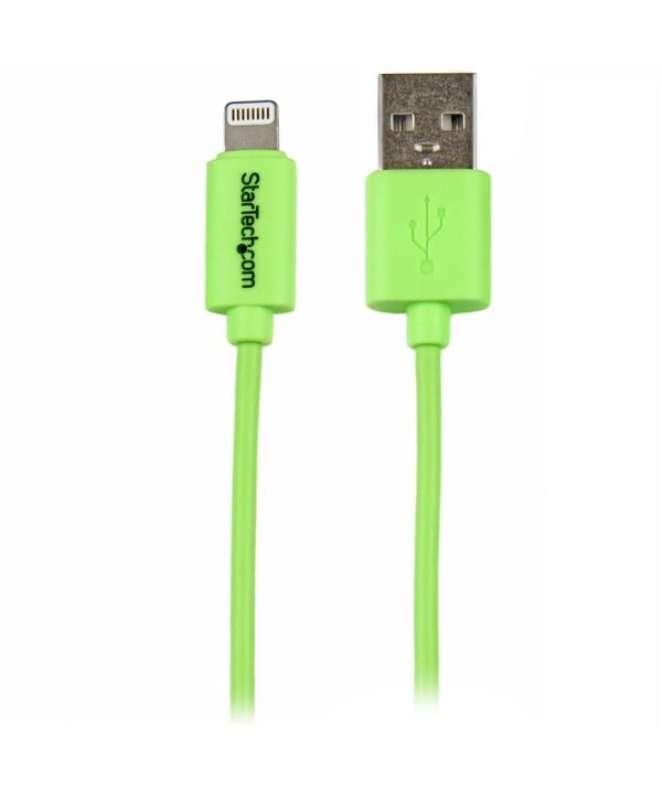 Cavo USB Apple a connettore Lightning da 8 pin per ricarica iPhone 5 / Ipad air / Ipod da 1m - verde