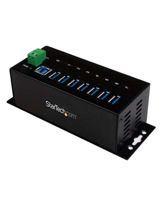 HUB Industriale USB 3.0 a 7 porte - Perno e concentratore USB 3.0 con Protezione ESD