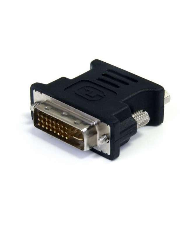Adattatore Convertitore DVI a VGA - DVI-I Maschio a DB15 Femmina - Confezione da 10 pezzi/Nero
