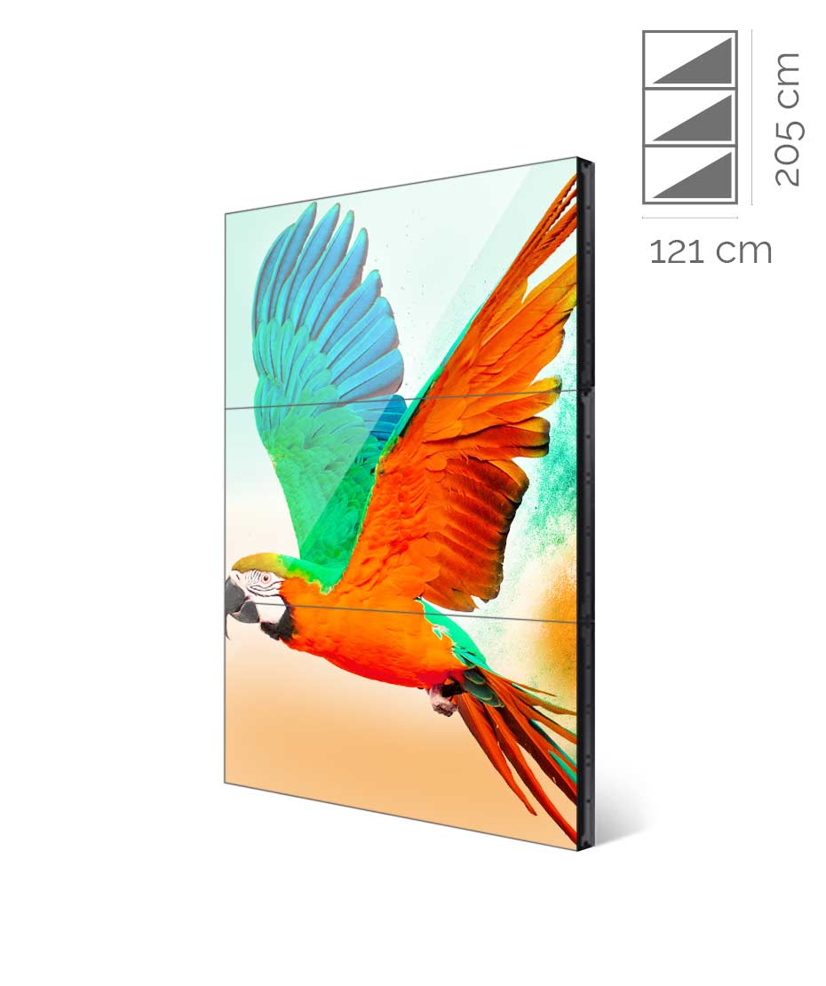 Videowall Samsung Mod. UD55E-A 1x3