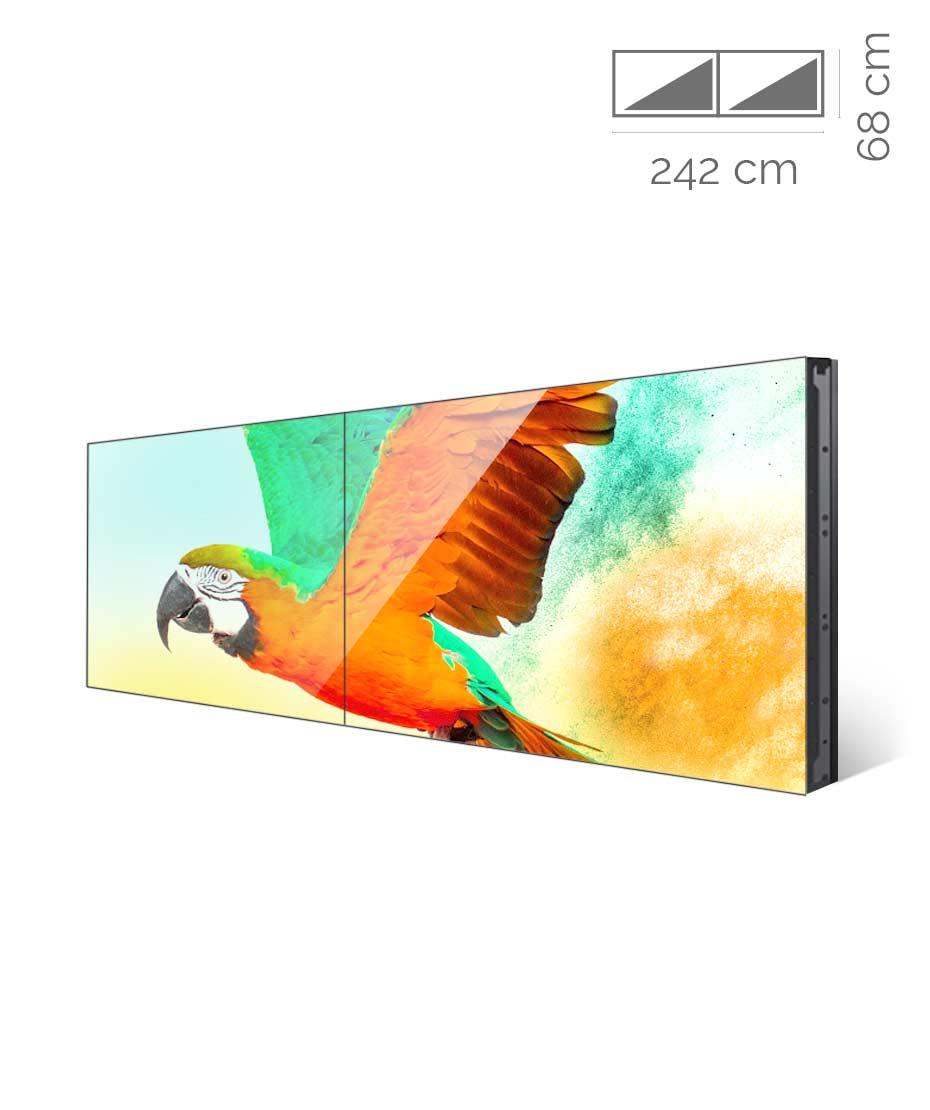 Videowall Samsung Mod. UD55E-A 2x1