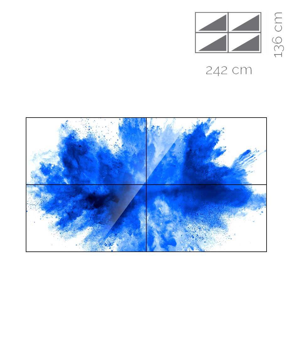Videowall Samsung Mod. UD55E-A 2x2