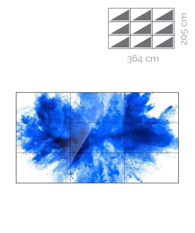 Videowall Samsung Mod. UD55E-A 3x3