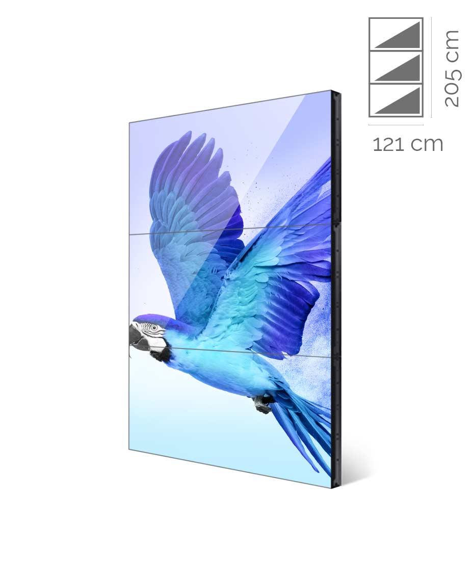 Videowall Samsung Mod. UD55E-B 1x3