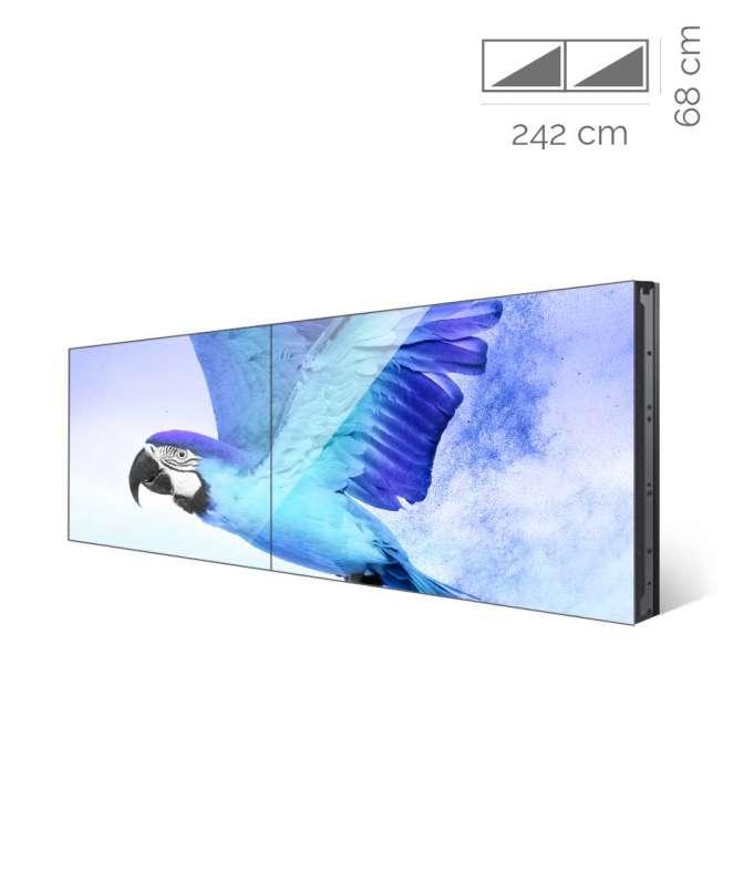 Videowall Samsung Mod. UD55E-B 2x1