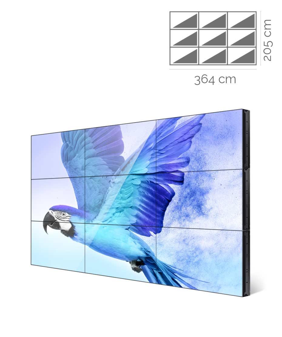 Videowall Samsung Mod. UD55E-B 3X3
