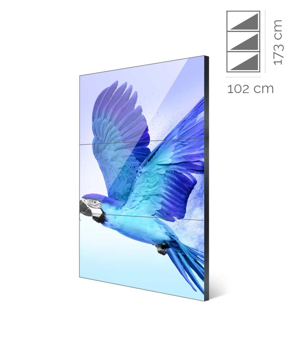 Videowall Samsung Mod. UH46F-5 1x3
