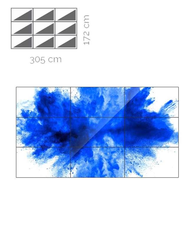 Videowall Samsung Mod. UH46F-5 3x3