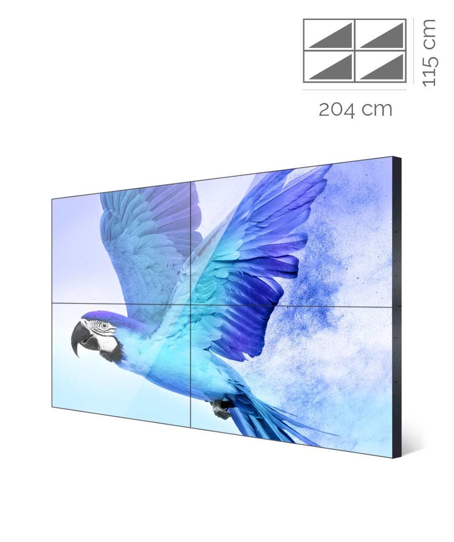 Videowall Samsung 46 pollici UH46N-E 2x2