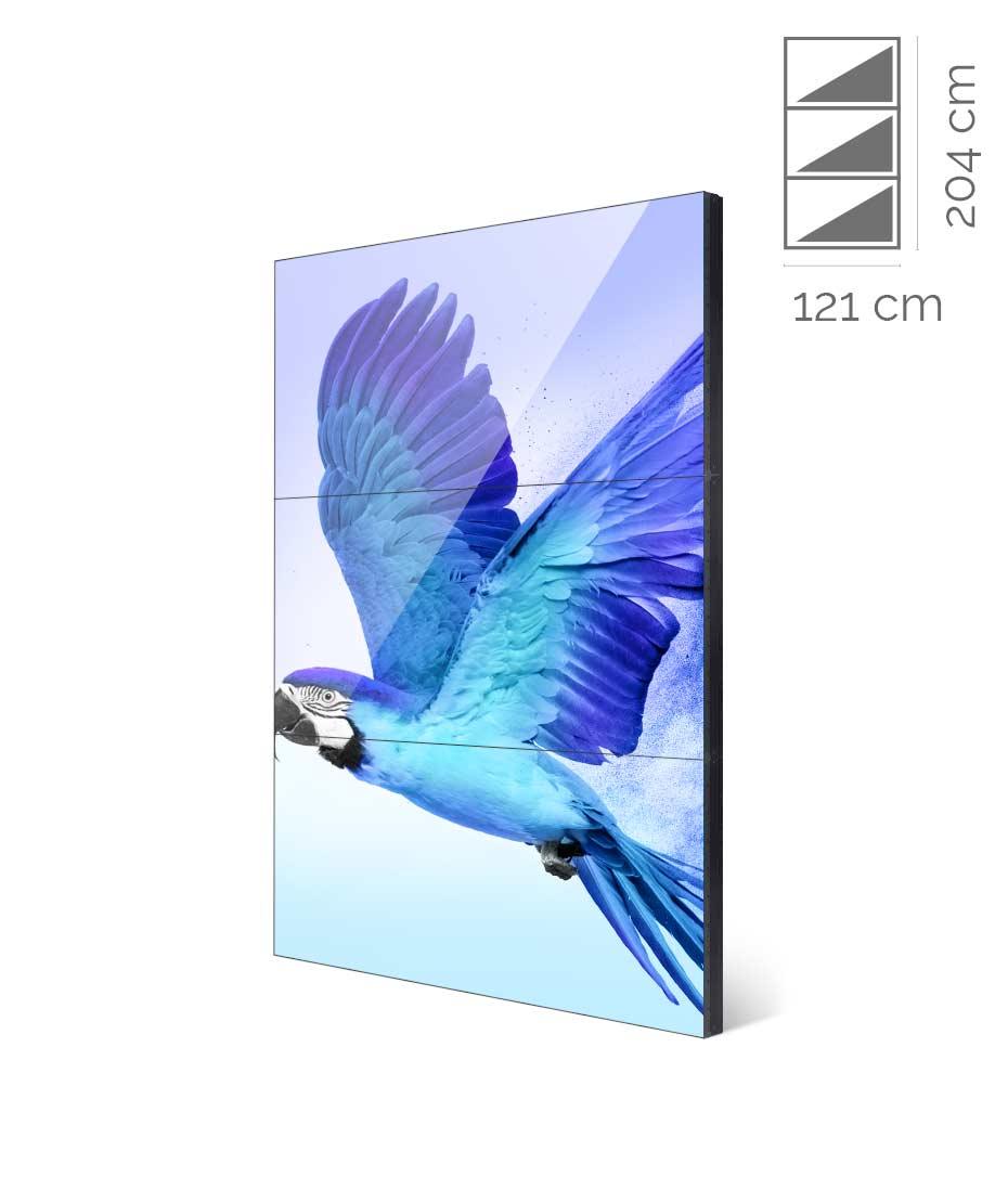 Videowall Samsung Mod. UH55F-E 1x3