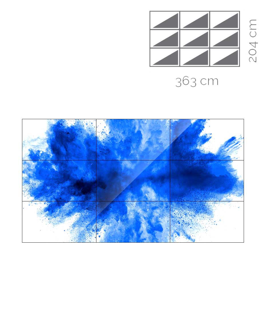 Videowall Samsung Mod. UH55F-E 3x3