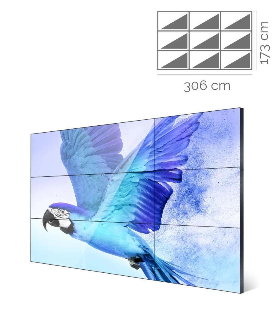 Videowall Samsung 46 pollici UM46N-E 3x3