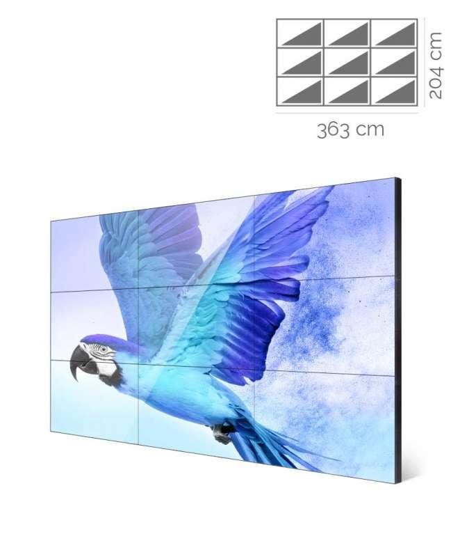 Videowall Samsung Mod. UM55H-E 3x3