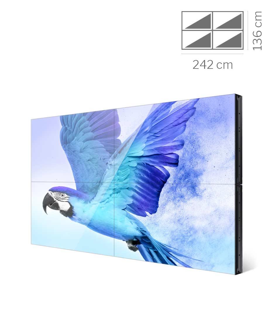 Videowall Samsung Mod. VH55R-R 2x2