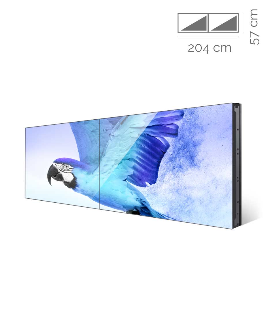 Videowall Samsung Mod. VM46R-U 2x1 con player interno