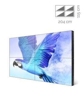 Videowall Samsung Mod. VM46R-U 2x2 con player interno