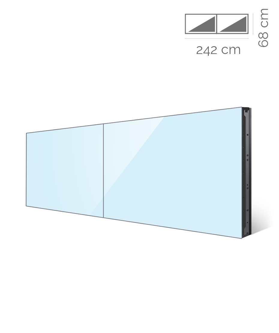 Videowall Samsung Mod. UH55F-E 2x1