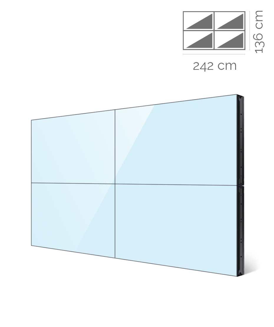 Videowall Samsung Mod. UH55F-E 2x2