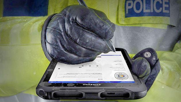 Tablet per firma grafometrica resistente all'acqua e alla polvere