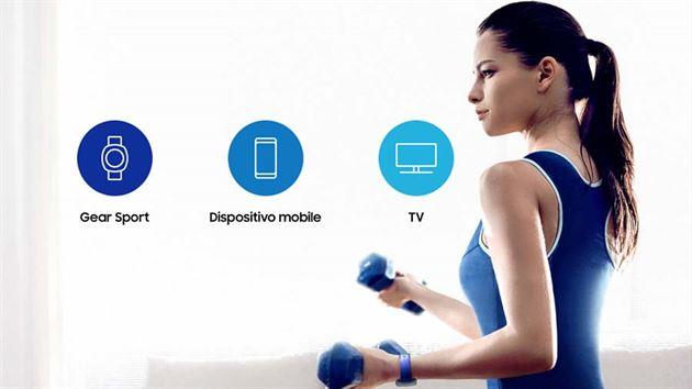 Funzione di allenamento personalizzato Samsung wearable gear