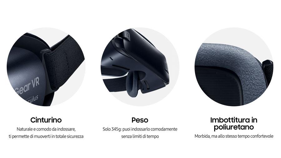 Comfort visore VR Samsung Gear