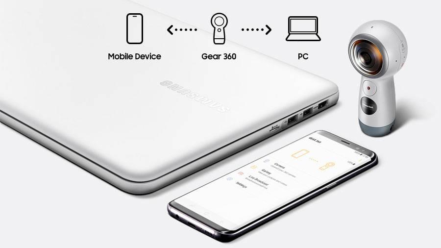 Compatibilità Cam Samsung 360°