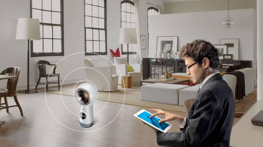 Software Virtours con Cam Samsung 360