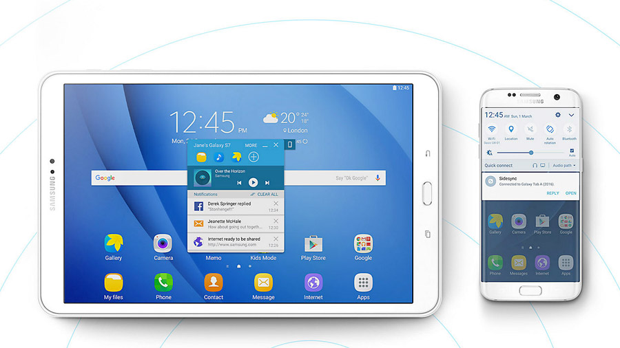 Tablet Samsung LTE per ristoranti