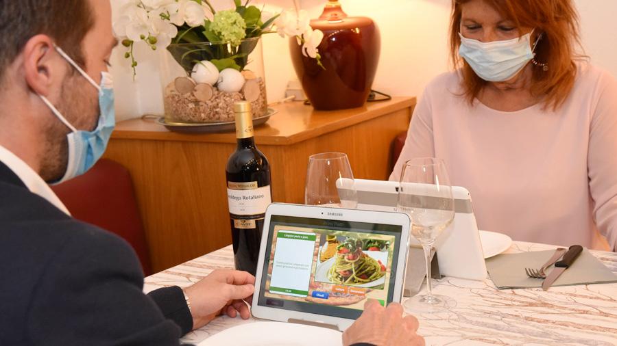Tablet per ristoranti