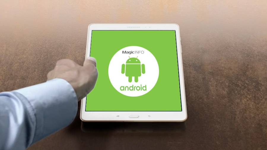 MagicInfo player per Android