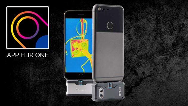 Accessorio termocamera per mobile