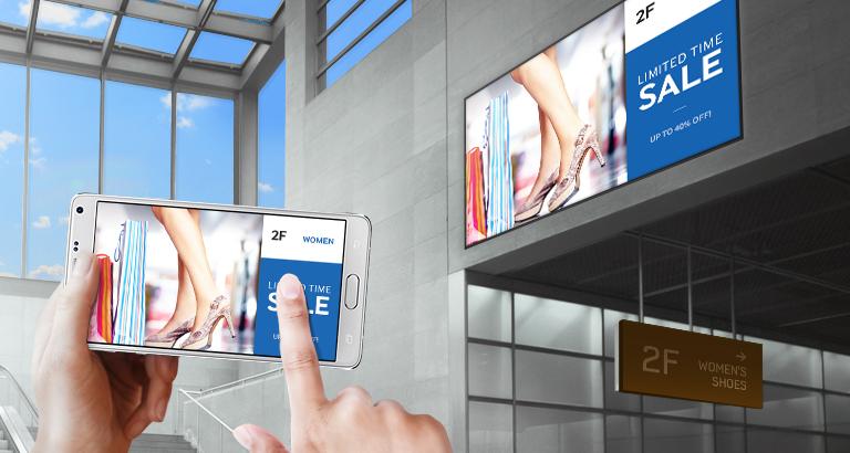 Gestisci i contenuti in maniera facile e professionale dal tuo dispositivo mobile