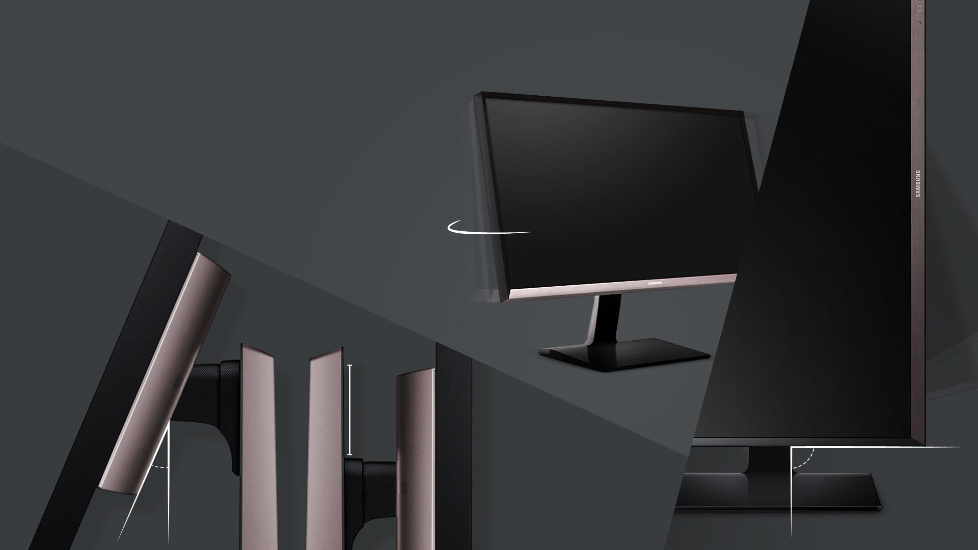 Monitor professionale ergonomico per tutte le esigenze di un professionista