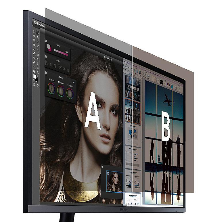 Funzionalità Picture-by-Picture a doppio schermo