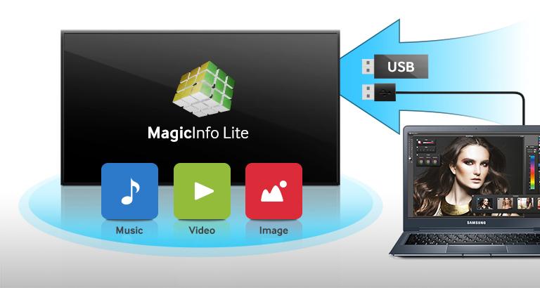 Riproduzione automatica dei contenuti su memoria interna o USB