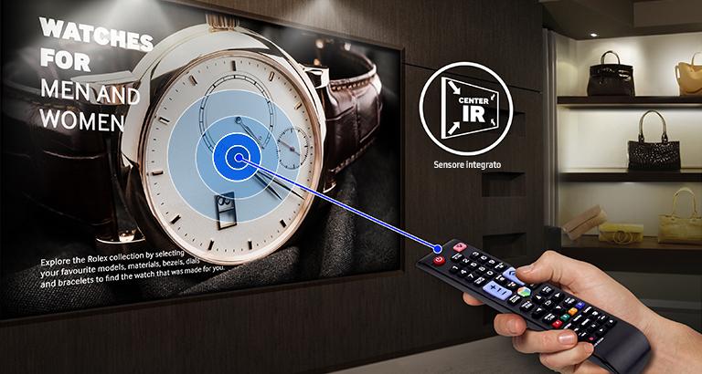 Assicurati un controllo più facile e flessibile grazie al ricevitore centralizzato a infrarossi