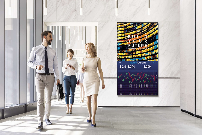 Con un display connesso, la comunicazione è ancora più efficace