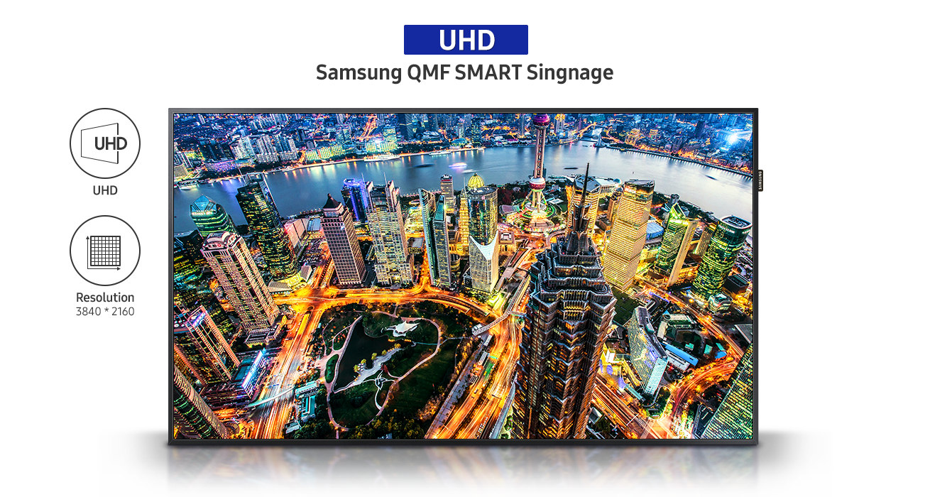 Enliven Commercial Content with UHD Picture Quality