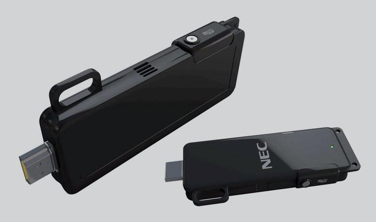 Chiavetta MP10RX NEC MultiPresenter – il collegamento che mancava per le presentazioni wireless semplici