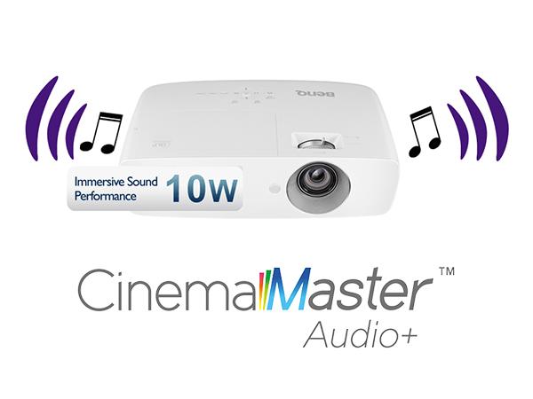 CinemaMaster™ Audio+