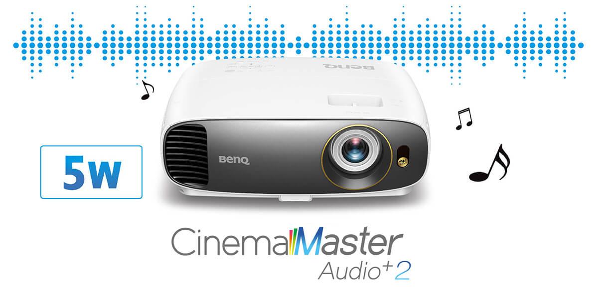 CinemaMaster Audio+ 2 per un audio eccezionale