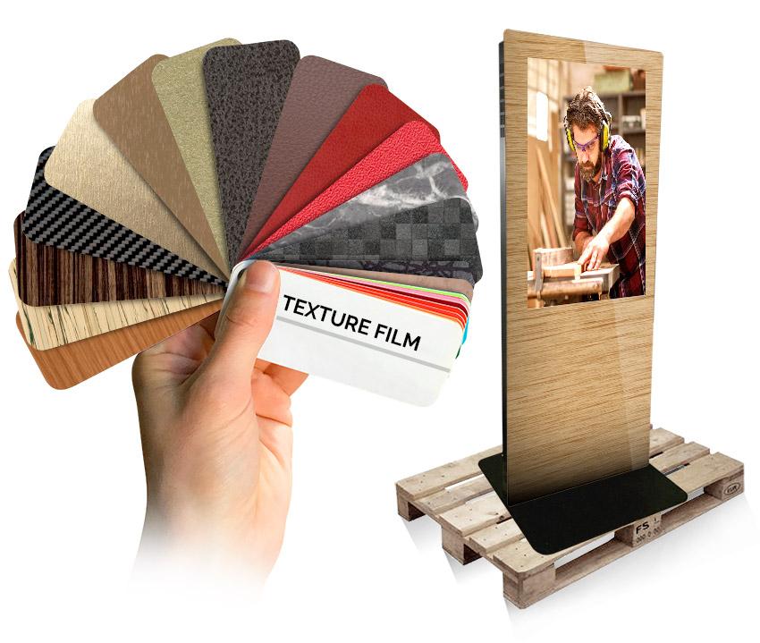 Personalizzazione Totem - Texture